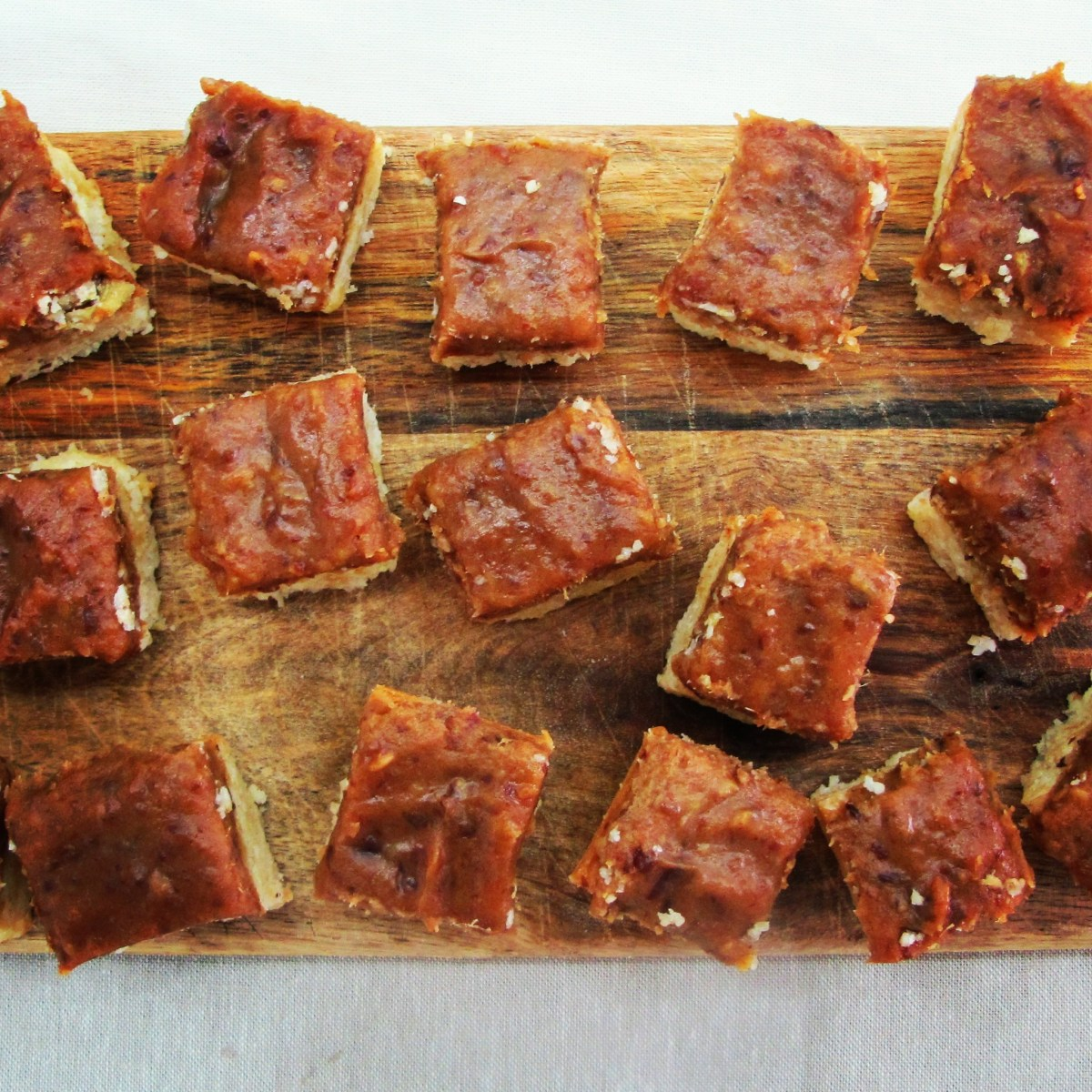 Raw Ginger Cashew Nut Slice