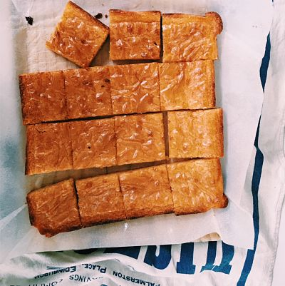 The Easiest & Best Blondies
