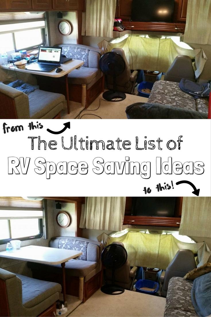 100 Rv Space Saving Ideas For Ultimate Rv Organization Get