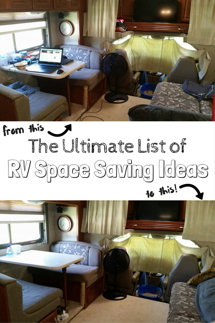 My Daughters Box Room Right Side: 100+ RV Space Saving Ideas For Ultimate RV Organization