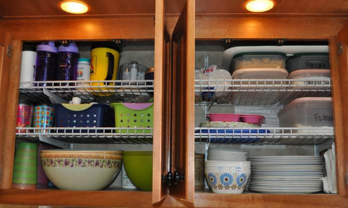 rv shelves