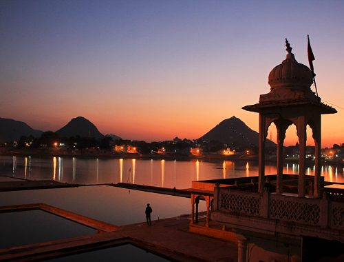 Pushkar lake, Rajasthan