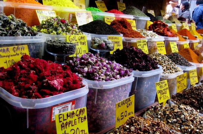 Egyptian Spice Market, Istanbul, Turkey