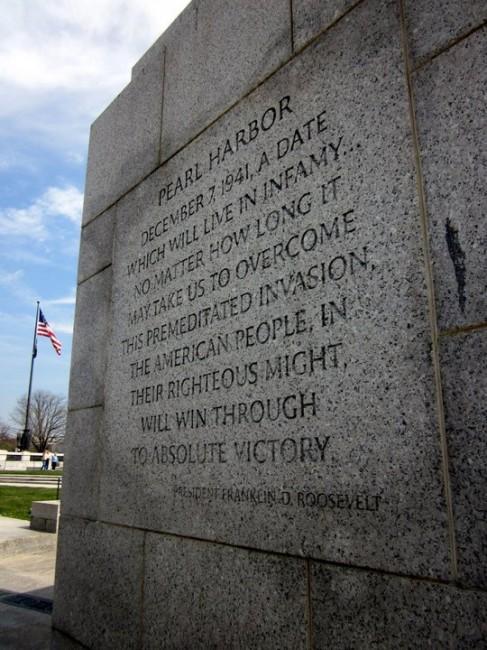 WWII Memorial, DC