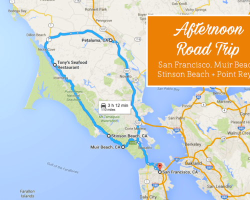 Point Reyes Road Trip, San Francisco