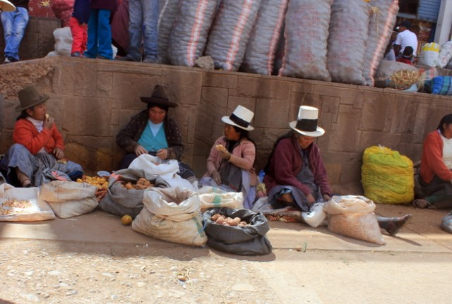 Urubamba Market, Sacred Valley of the Incas, Peru