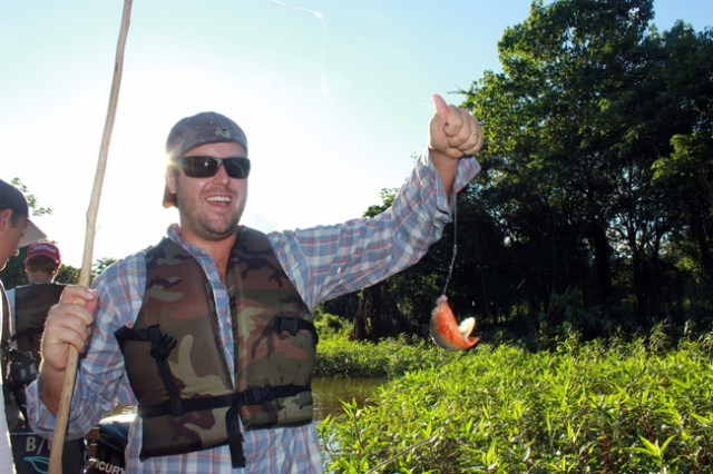 Piranha Fishing in the Amazon, Amazon River Cruise