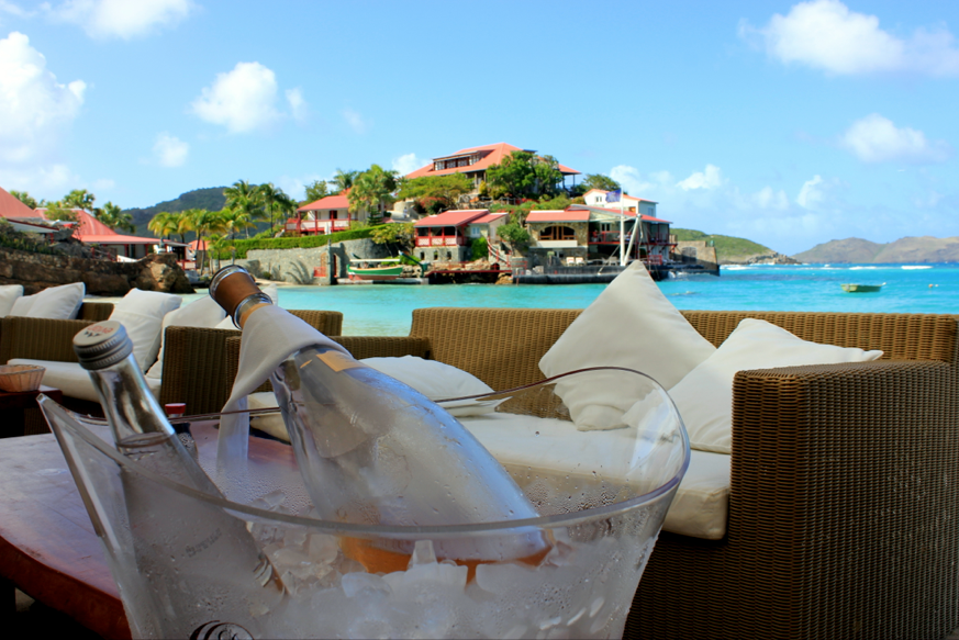 Nikki Beach, Lunch in St. Barths