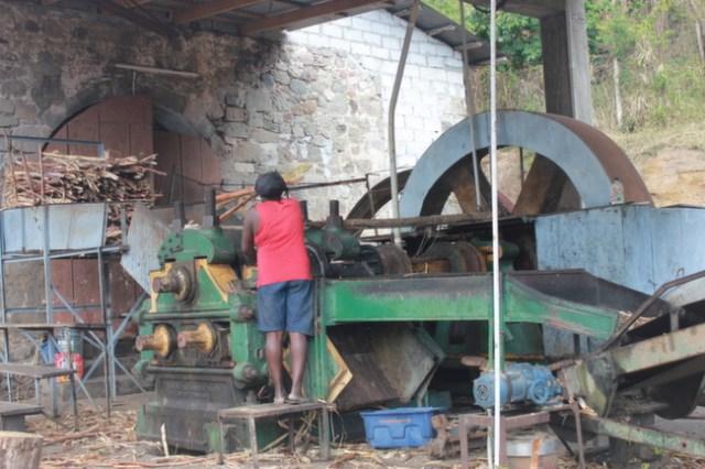 Macoucherie Rum Factory, Dominica