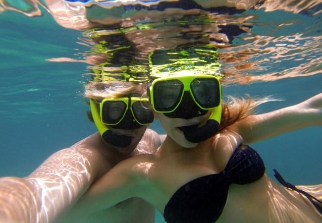 Snorkeling Trunk Bay, St. John, USVI