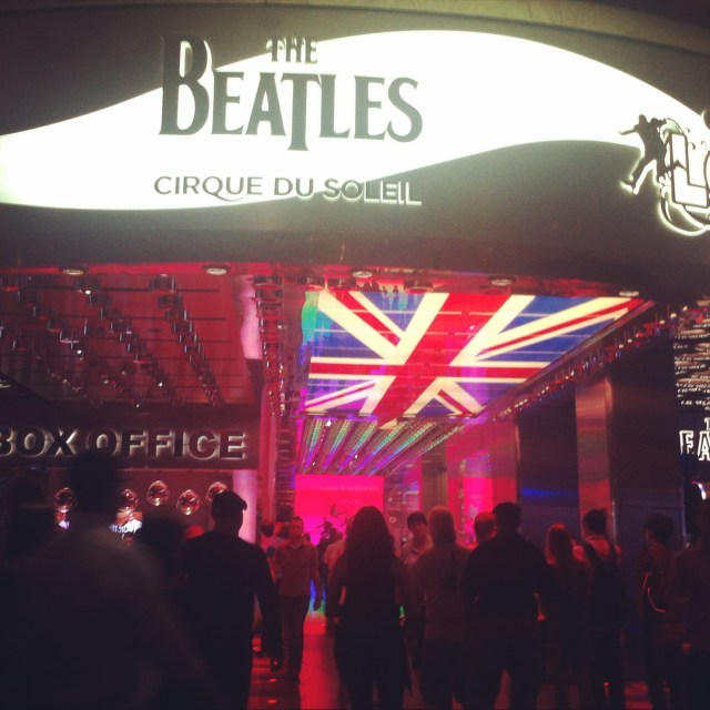 Beatles, Las Vegas