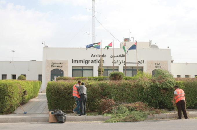 Entering Jordan from Israel