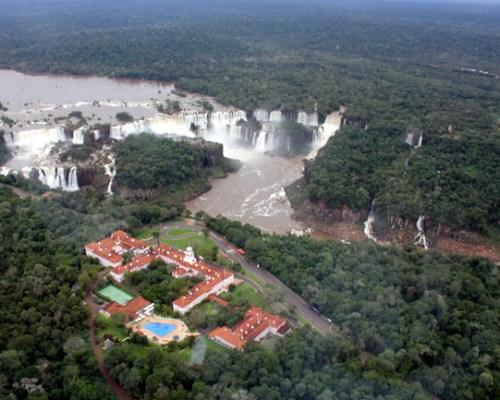 Helicopter Ride over Iguassu Falls