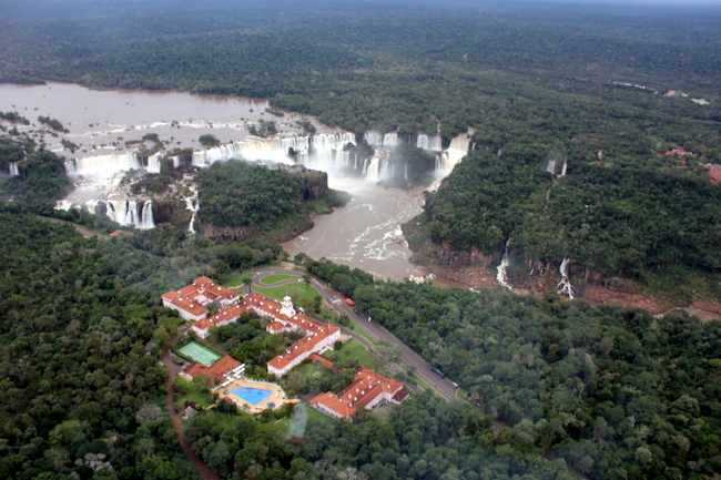 Helicopter Ride over Iguassu Falls