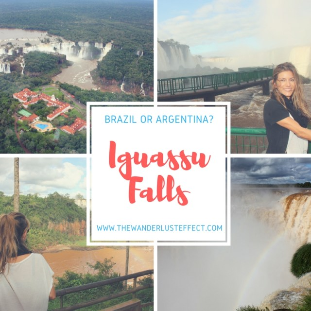 Iguassu Falls: Argentina vs. Brazil