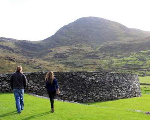 Loher Stone Fort, Ring of Kerry, Ireland