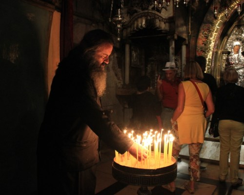 Church of the Holy Sepulchre in Jerusalem, Israel