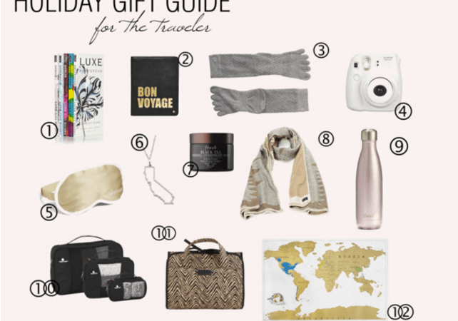 Holiday Gift Guide for the Traveler
