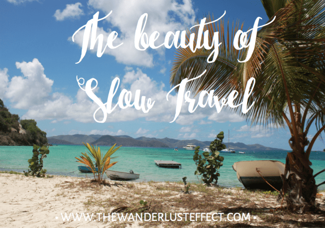 The beauty of slow travel #slowtravel #traveldeeper