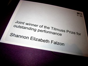 Titmuss Prize, LSE