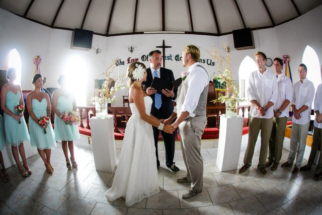 Bethel Methodist church, Anguilla Destination Wedding