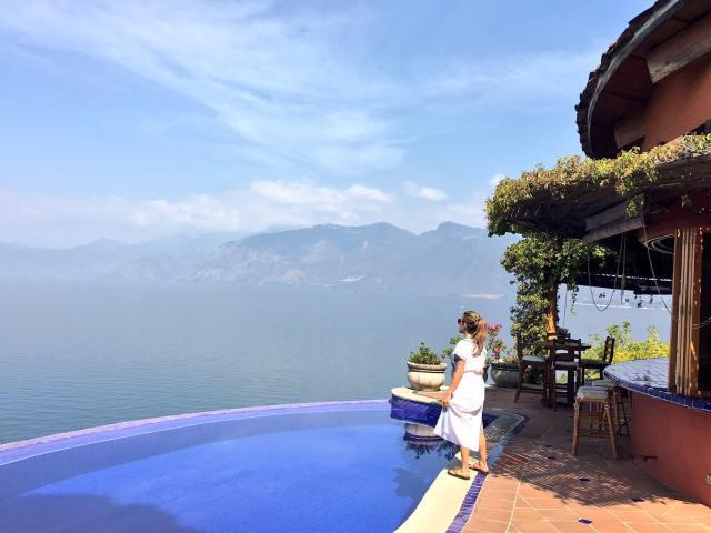 Lake Atitlan, Guatemala, Spring in Central America