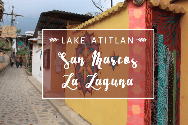 San Marcos La Laguna, Lake Atitlán