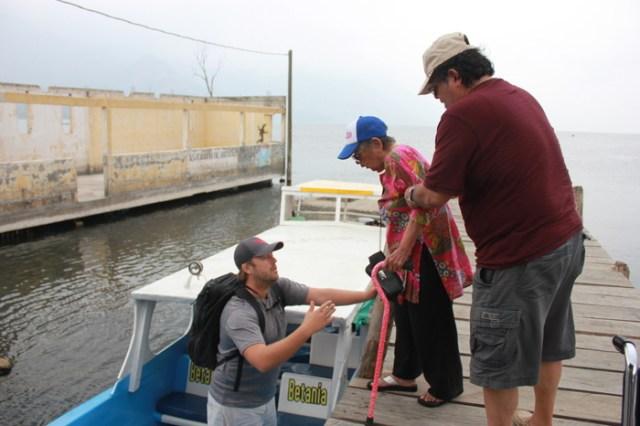 Handicap Accessibility in Lake Atitlan, Guatemala