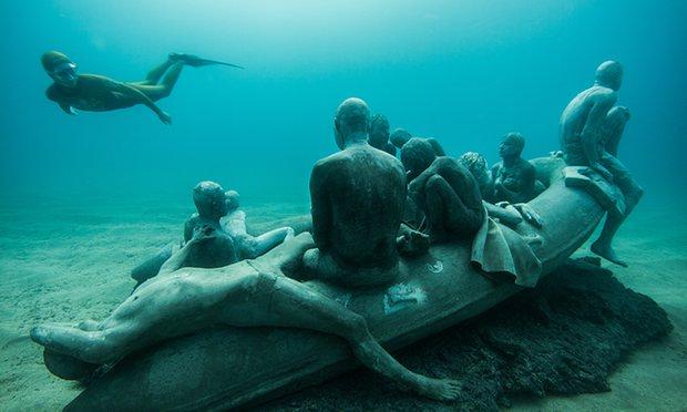 Museo Atlantico Underwater Museum, Lanzarote