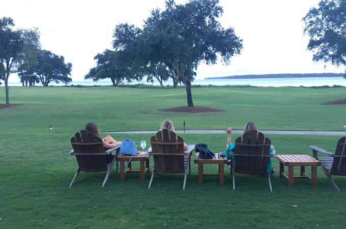 Girls Getaway on Sea Island