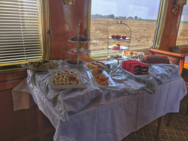 Tea on The Blue Train, South Africa - The Wanderlust Effect