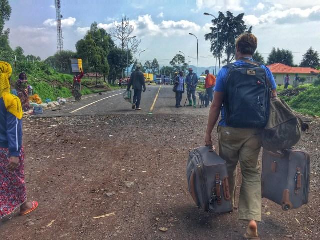 Congo Uganda Border