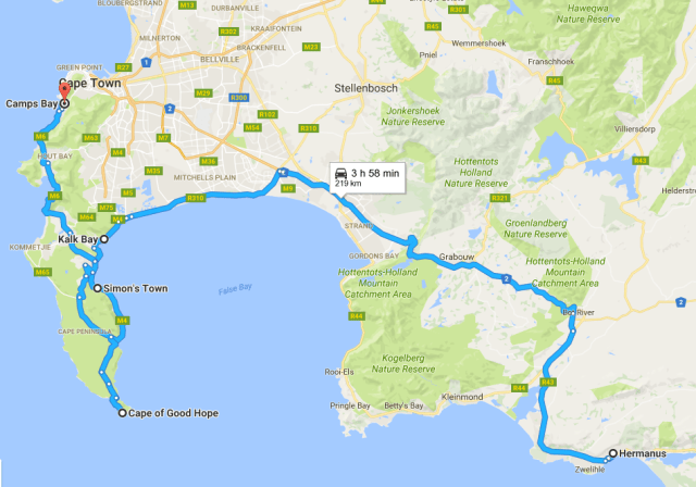 Cape of Good Hope: Hermanus to Cape Town Drive