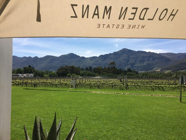 Holden Manz, Wine Tasting on the Franschhoek WIne Tram