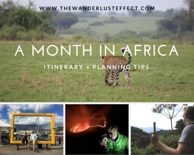 Takeaways from a Month in Africa