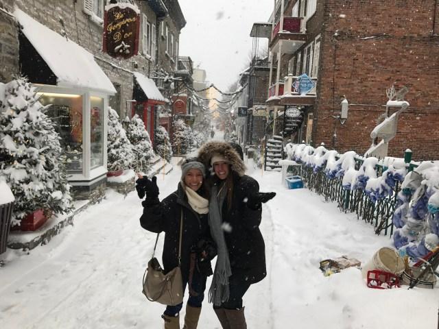 Quartier Petit Champlain, Christmas in Quebec City
