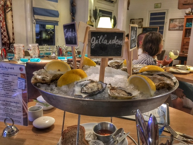 Oyster Cafe, A Day in Grand Case