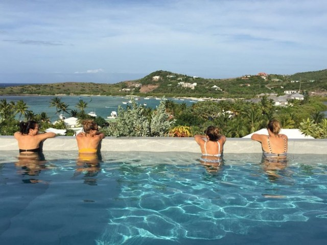 Bachelorette Party in St. Barths