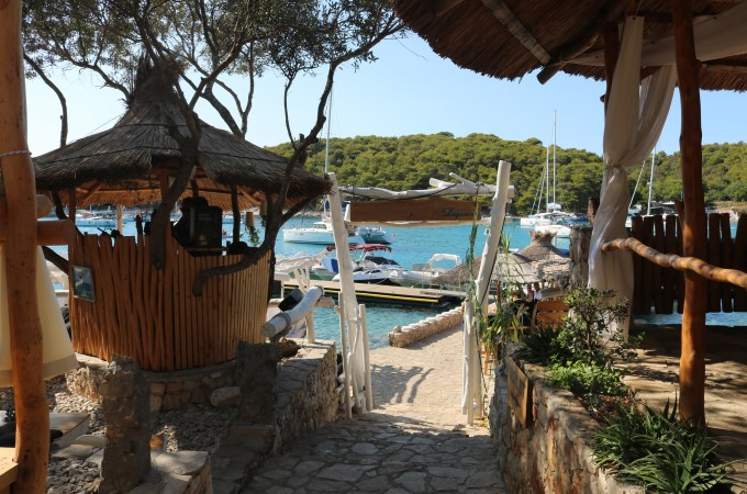 Langanini Lounge Bar, Island Hopping from Hvar