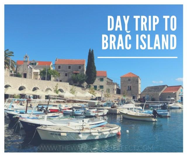 A Day trip to Brac