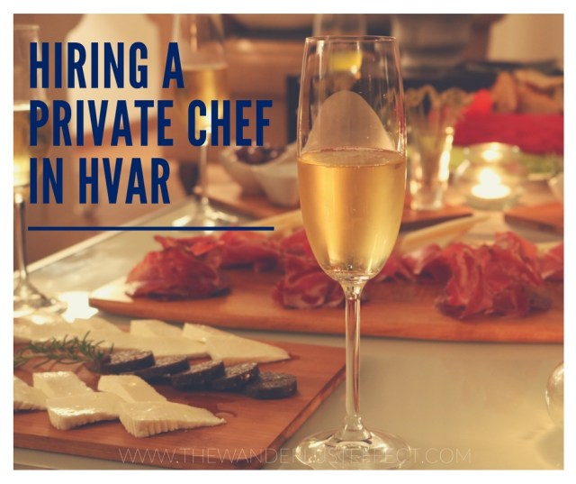 Luxury Travel: Hiring a Private Chef in Hvar