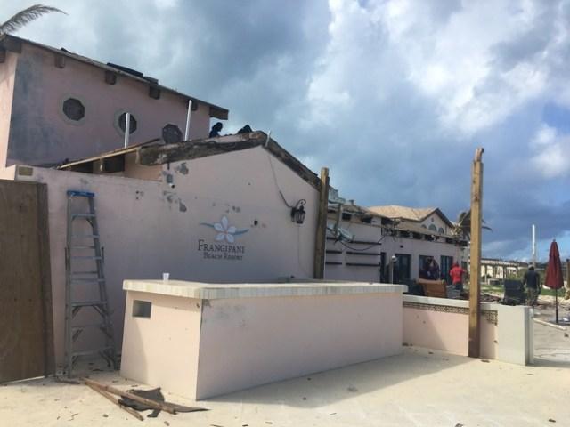 Frangipani Beach Resort, Anguilla Post-Hurricane Irma