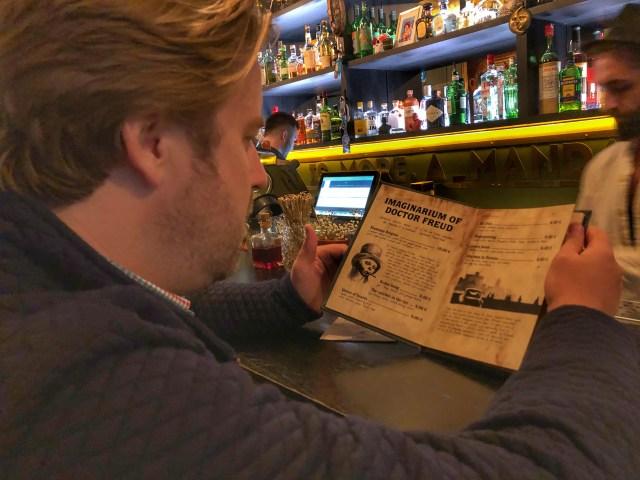 Bars in Tallinn: Sigmund Freud
