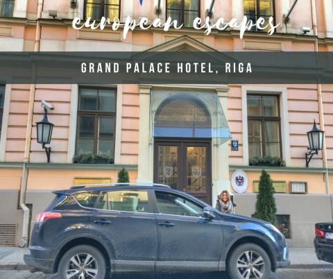 HOTEL INSIDER: A Stay at Grand Palace Hotel, Riga