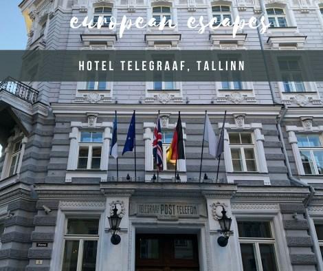 HOTEL INSIDER: A Stay at Hotel Telegraaf, Tallinn