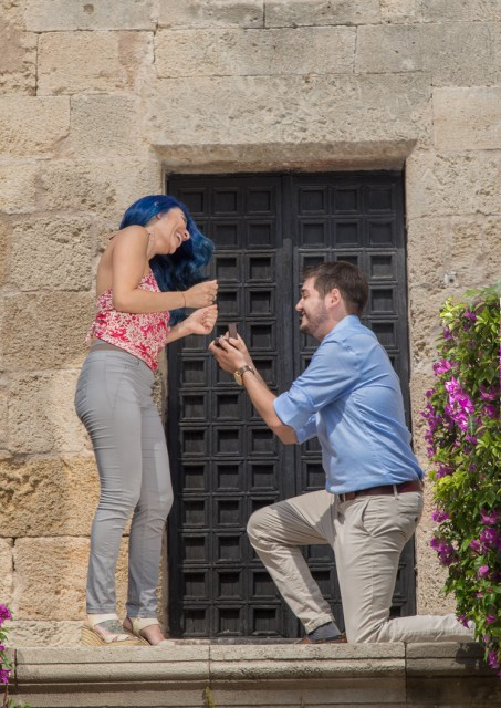 Greece Proposal, Greece Vacation Photography