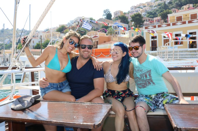 GREECE: Exploring Symi by Boat