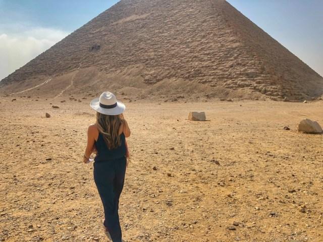 Egyptian Pyramids of Dahshur