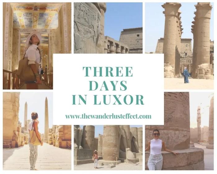 Itinerary: Three Days in Luxor
