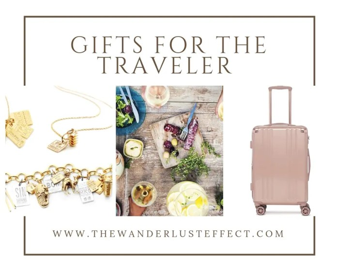 GIFT GUIDE // Gifts for the Traveler 2018